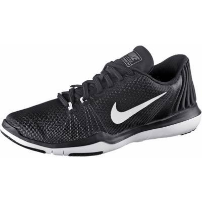 Nike Flex Supreme Trainer 5 Fitnessschuhe Damen schwarz/grau
