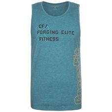 Reebok CrossFit Burnout Funktionstank Herren hellblau
