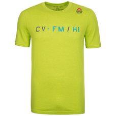 Reebok CrossFit Performance Blend Graphic Funktionsshirt Herren lime