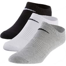 Nike LIGHTWEIGHT NO SHOW Socken Pack schwarz/weiß/grau