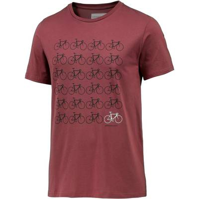 ARMEDANGELS James Printshirt Herren rot