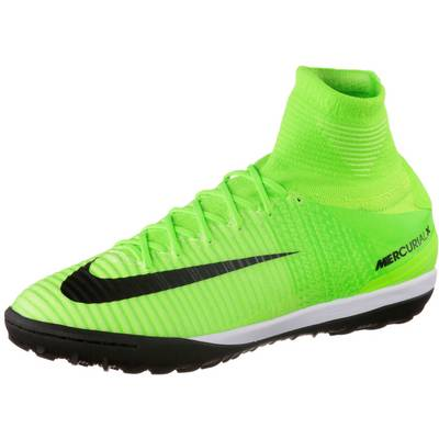 Nike MERCURIALX PROXIMO II TF Fußballschuhe Herren neongrün/orange