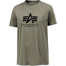 Alpha Industries T-Shirt Herren oliv