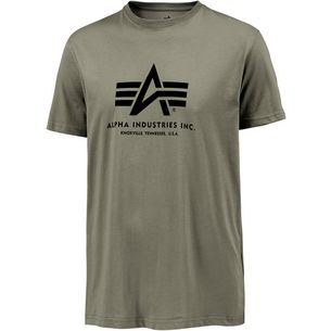 Alpha Industries T-Shirt Herren oliv