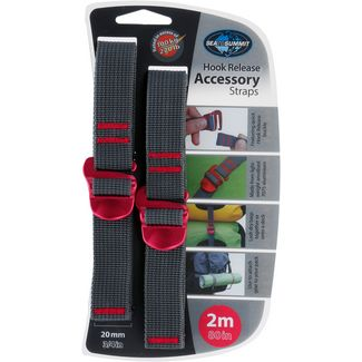 Sea to Summit Accessory Straps Spannriemen red