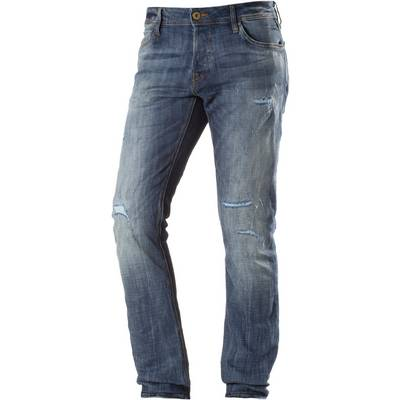 Jack & Jones Glenn Slim Fit Jeans Herren destroyed denim