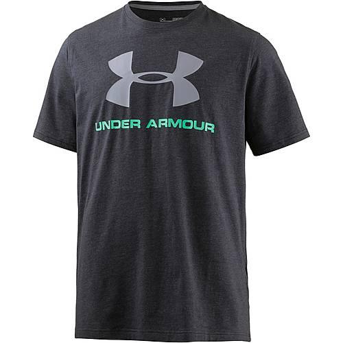 Under Armour HeatGear Sportstyle Logo Funktionsshirt Herren schwarz