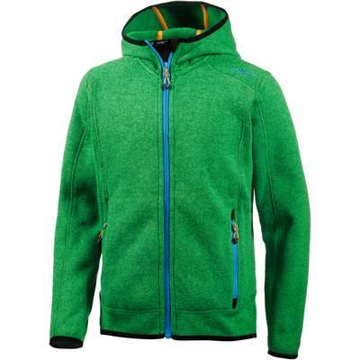 CMP Strickfleece Kinder grün