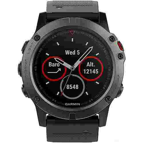 garmin fenix 5x saphir sportuhr grau im online shop von. Black Bedroom Furniture Sets. Home Design Ideas