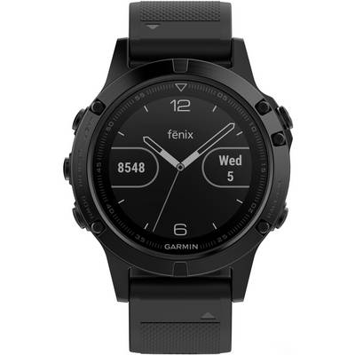 garmin fenix 5 saphir sportuhr schwarz im online shop von. Black Bedroom Furniture Sets. Home Design Ideas