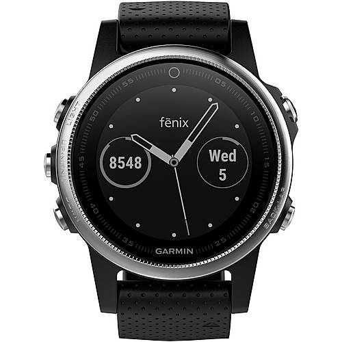 garmin fenix 5s sportuhr schwarz im online shop von. Black Bedroom Furniture Sets. Home Design Ideas