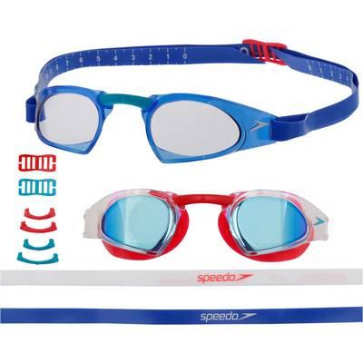 SPEEDO Fastskin Prime Schwimmbrille rot/blau
