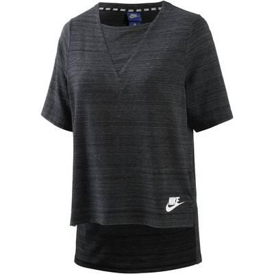 Nike Advanced Knit T-Shirt Damen schwarz