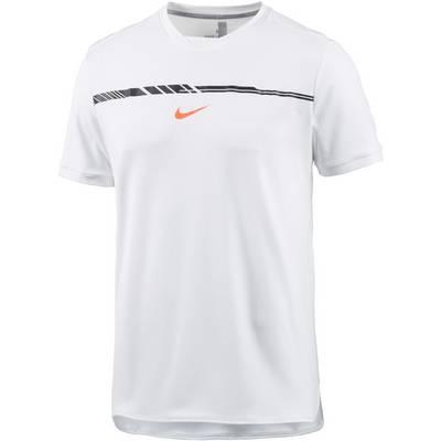 Nike Rafa Tennisshirt Herren weiß