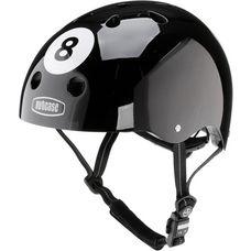 Nutcase 8 Ball Fahrradhelm schwarz