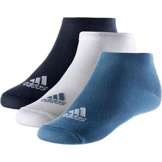 adidas Socken Pack Kinder blau/weiß/navy