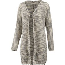 LTB Rawoce Strickjacke Damen grau/camouflage