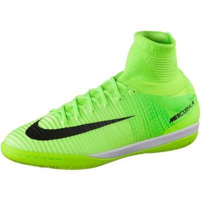 Nike MERCURIALX PROXIMO II IC Fußballschuhe Herren neongrün/schwarz