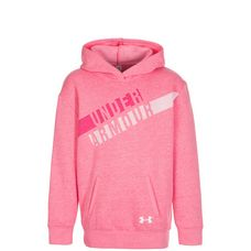 Under Armour ColdGear Favorite Fleece Hoodie Kinder rosa