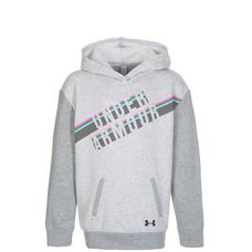 Under Armour ColdGear Favorite Fleece Hoodie Kinder grau