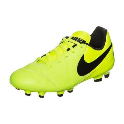 Nike Tiempo Legend VI Fußballschuhe Kinder neongelb / schwarz