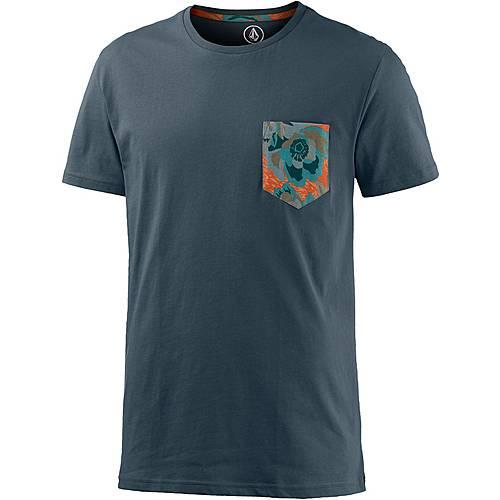 Volcom Arco Pocket T-Shirt Herren blau