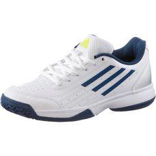 adidas SonicAttac Tennisschuhe Kinder weiß/blau