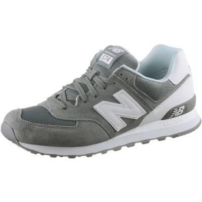 NEW BALANCE ML574CNC Sneaker Herren grau/weiß