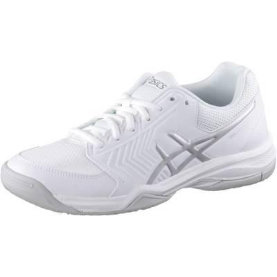 ASICS Gel-Dedicate 5 Tennisschuhe Damen weiß/silber