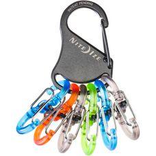 NITE IZE Keyrack Locker Schlüsselanhänger schwarz