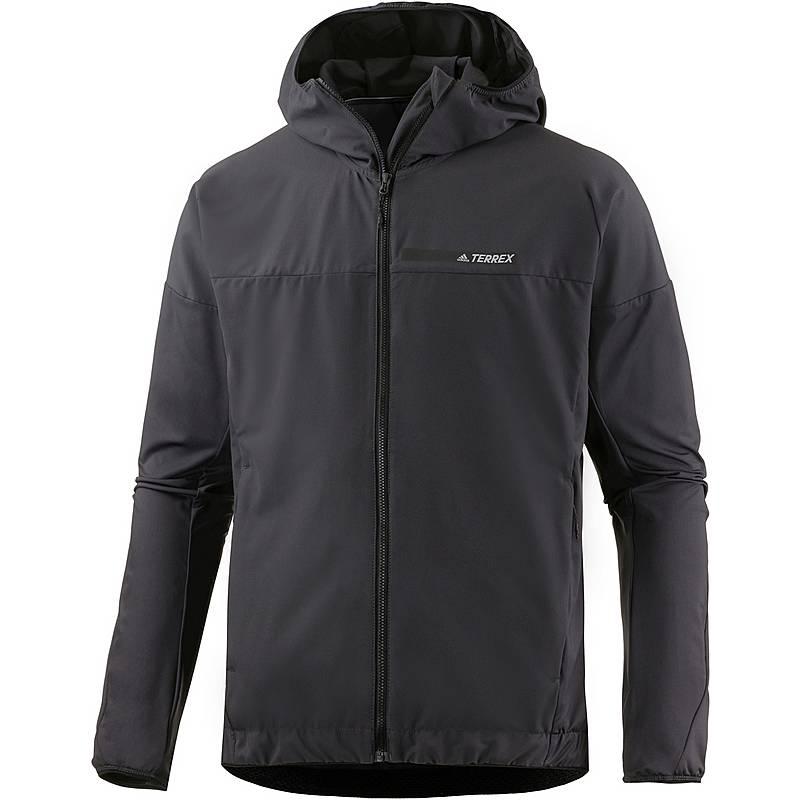 Adidas Terrex Voyager Softshelljacke Herren utility black im Online ... 18a8386e91