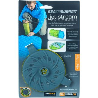 Sea to Summit Jet Stream Luftpumpe lime