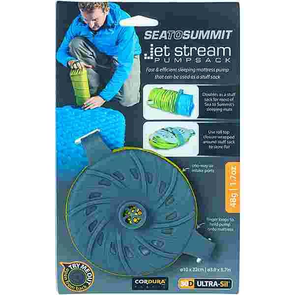Sea to Summit Jet Stream Luftpumpe lime