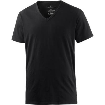 TOM TAILOR T-Shirt Herren schwarz