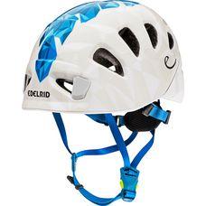 EDELRID Shield Lite Kletterhelm weiß/blau