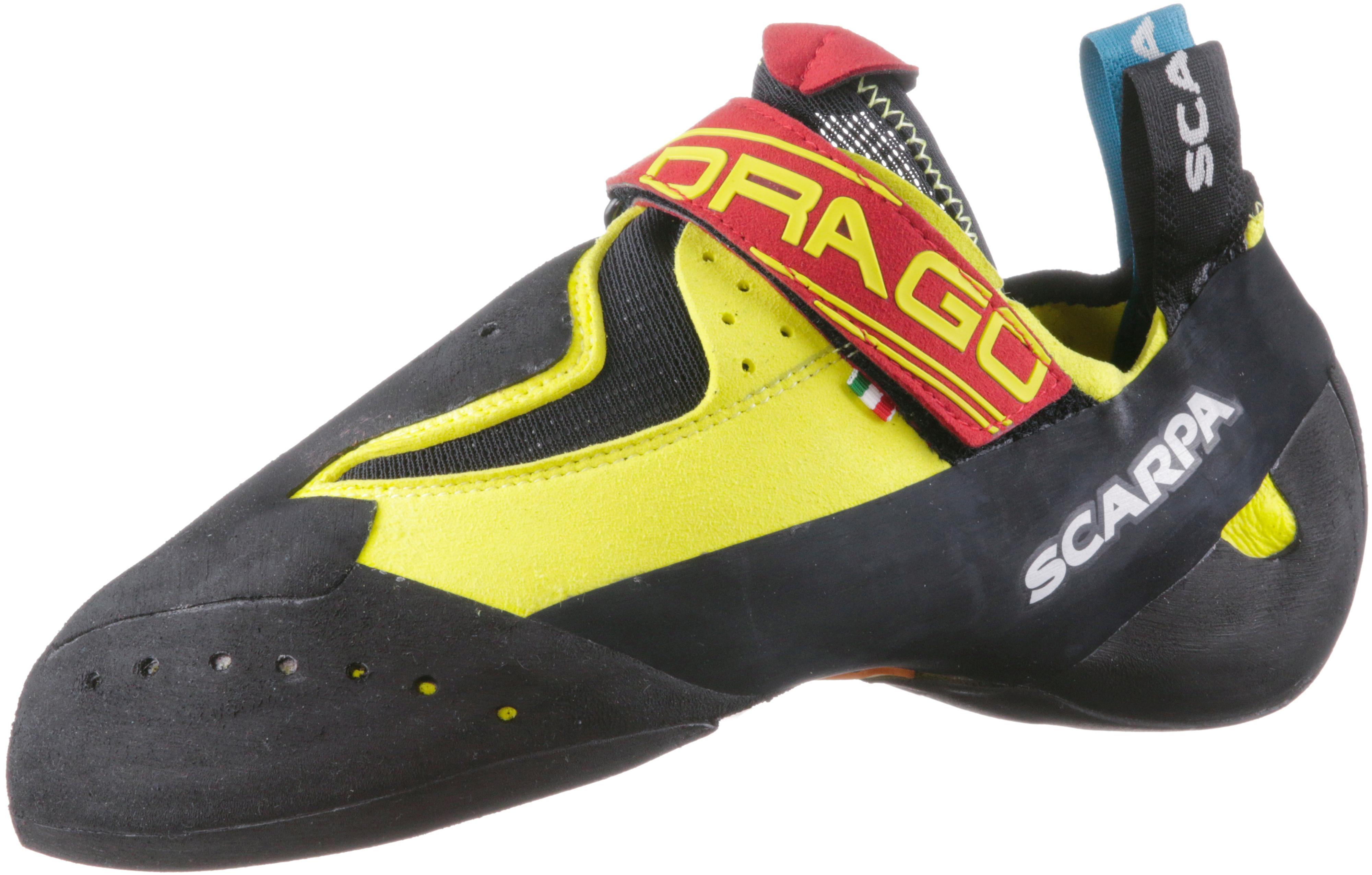 Scarpa Drago Kletterschuhe von gelb/schwarz im Online Shop von Kletterschuhe SportScheck kaufen Gute Qualität beliebte Schuhe 453482