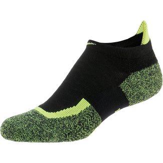 Nike Elite No-Show Tennissocken schwarz/grün