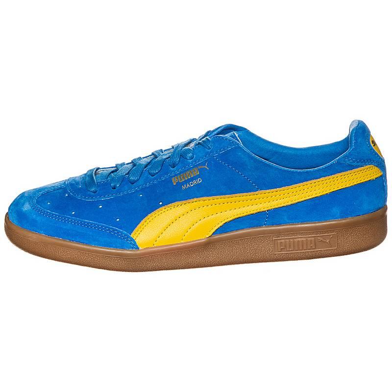 PUMA Madrid 2L Sneaker Herren, blau, blau / gelb