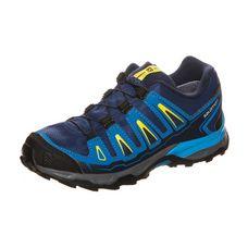 Salomon X-Ultra GTX Laufschuhe Kinder blau / gelb