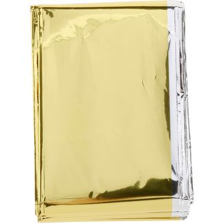 VAUDE Rescue blanket gold/silber Rettungsdecke