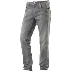 Jack & Jones Tim Straight Fit Jeans Herren grey denim