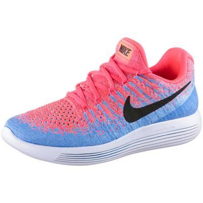Nike Lunarepic Low Flyknit 2 Laufschuhe Damen koralle/blau