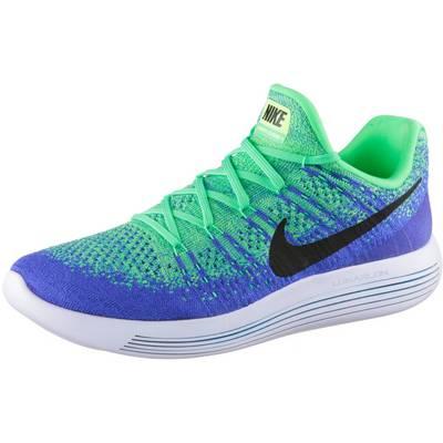 Nike Lunarepic Low Flyknit 2 Laufschuhe Herren grün/blau