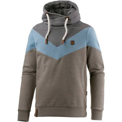 naketano kifferboarder iv hoodie herren oliv melange blau im online shop von sportscheck kaufen. Black Bedroom Furniture Sets. Home Design Ideas