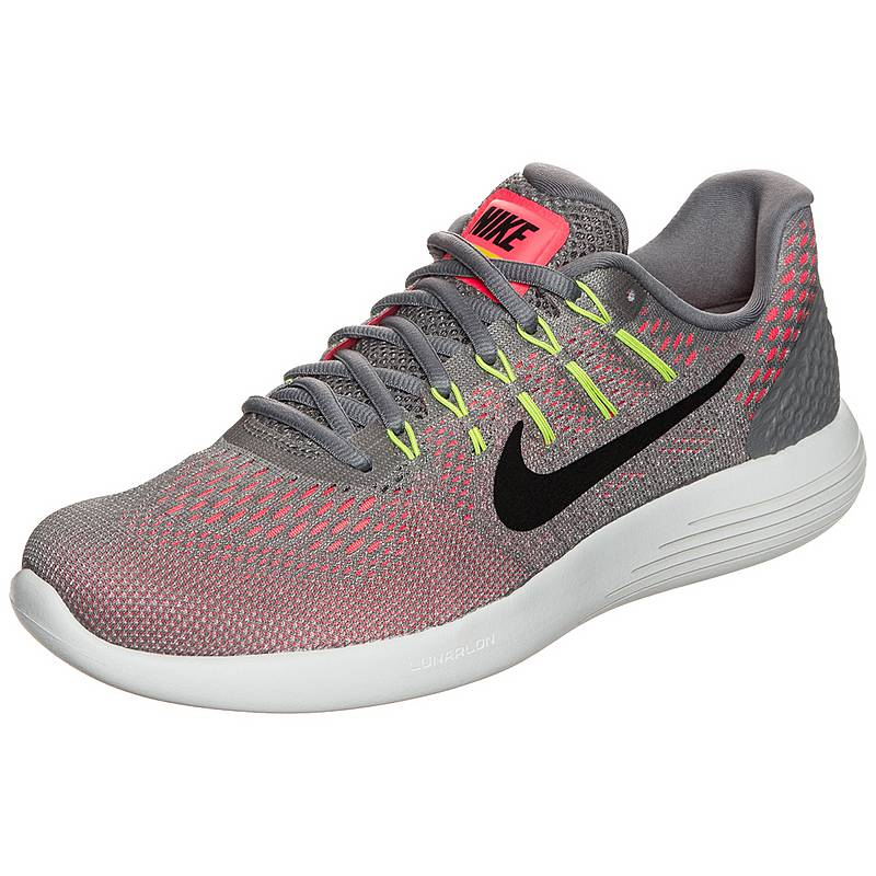 hot sale online f7158 19282 Nike Lunarglide 8 Laufschuhe Herren grau  orange  gelb