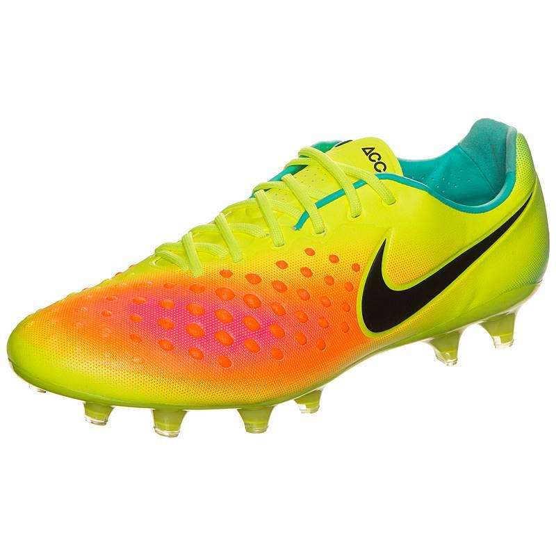 factory price 1d160 2df5b Nike Magista Opus II Fußballschuhe Herren neongelb  orange