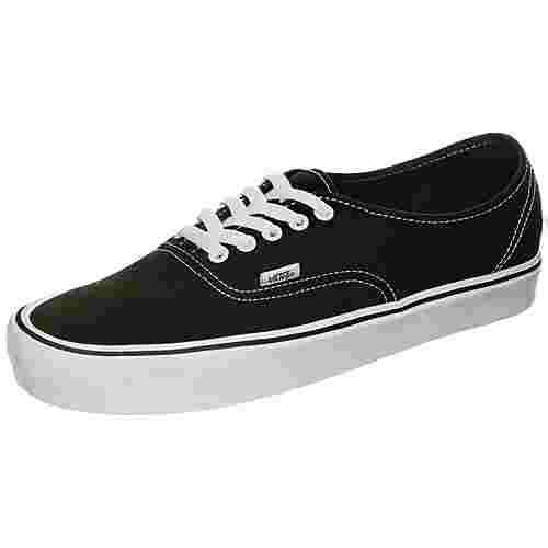 Vans Authentic Lite Canvas Sneaker schwarz / weiß