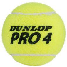 Dunlop PRO TOUR Tennisball gelb