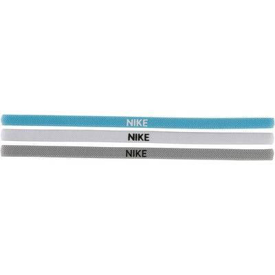 Nike 3 Pack Haarband VIVID SKY/WHITE/WOLF GREY