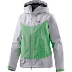 Jack Wolfskin North Ridge Funktionsjacke Damen hellgrün